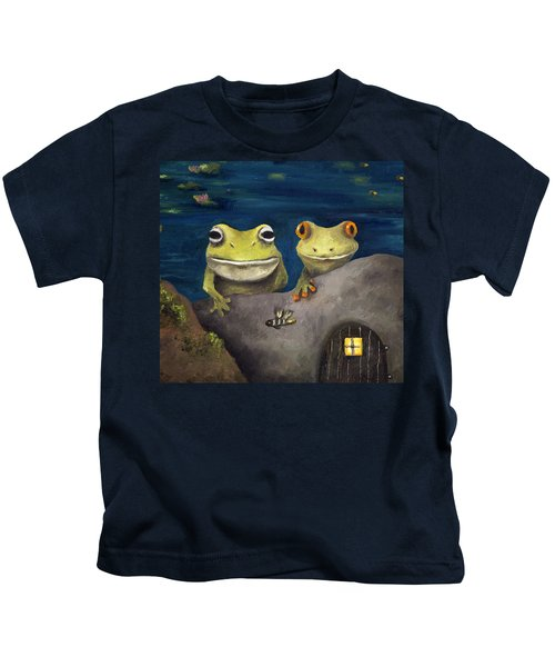 Frogland Detail Kids T-Shirt