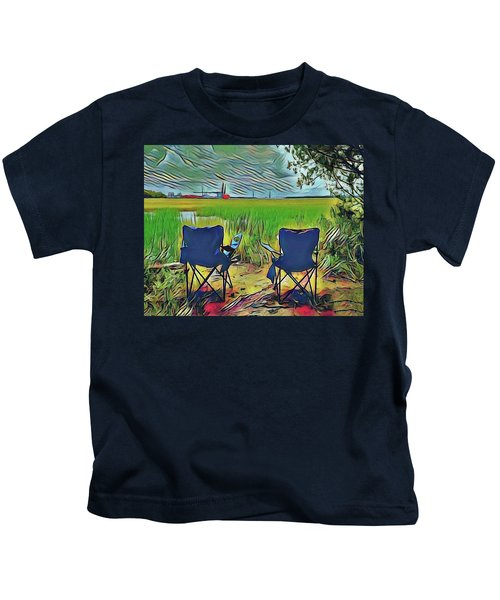 Front Row Seat Kids T-Shirt