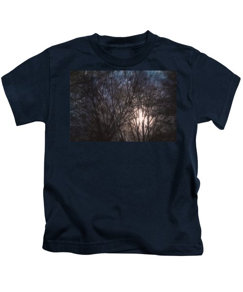 Full Moon Rising Kids T-Shirt
