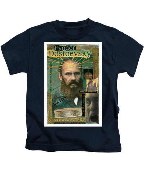 Fyodor Dostoevsky Kids T-Shirt