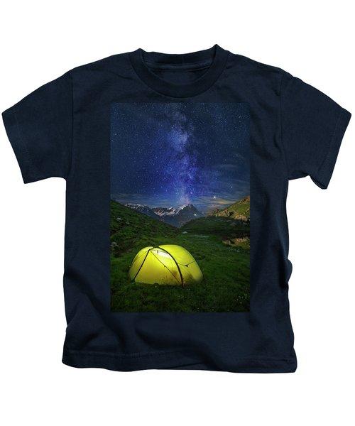 Galactic Eruption Kids T-Shirt