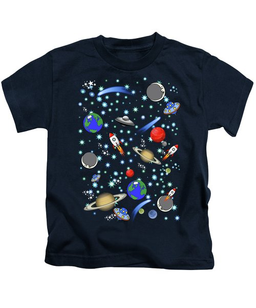 Galaxy Universe Kids T-Shirt
