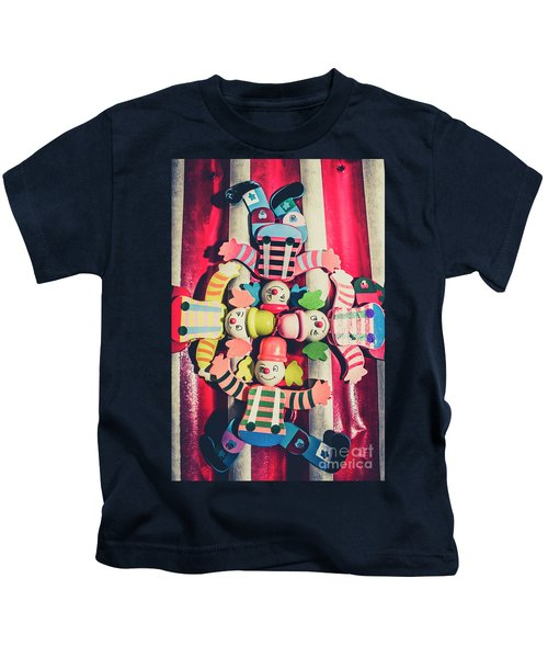 Games Room Of Wooden Circus Play Kids T-Shirt