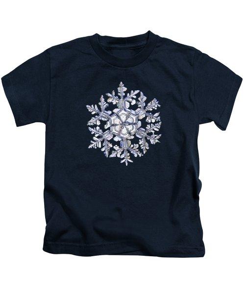 Gardener's Dream, White On Black Version Kids T-Shirt