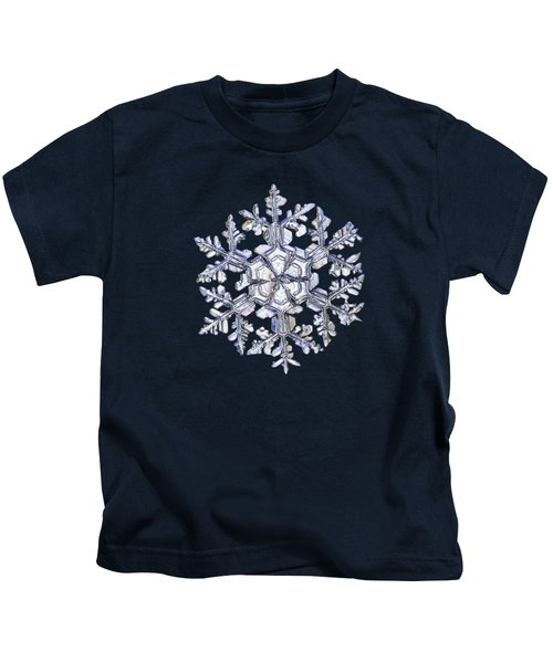 Gardener's Dream, White On Black Version Kids T-Shirt