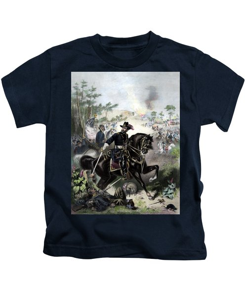 General Grant During Battle Kids T-Shirt