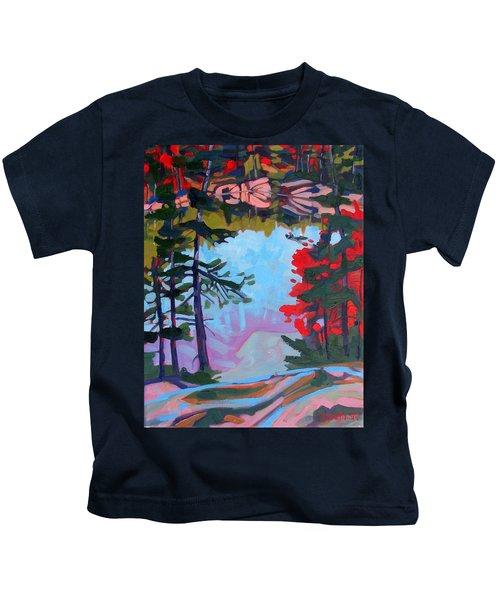 George Lake East Basin Kids T-Shirt