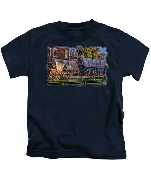 Ghost Of Old West No.1 Kids T-Shirt