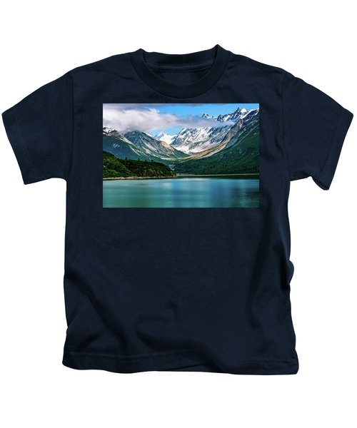 Glacial Valley Kids T-Shirt