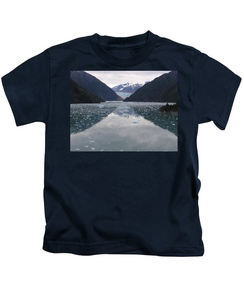 Glacier Blues Kids T-Shirt