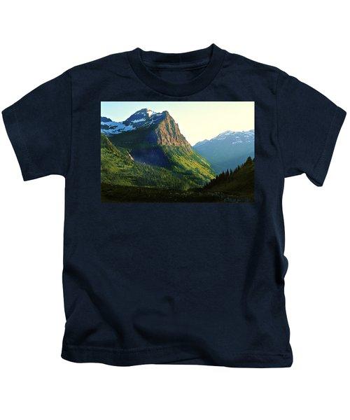 Glacier National Park 2 Kids T-Shirt