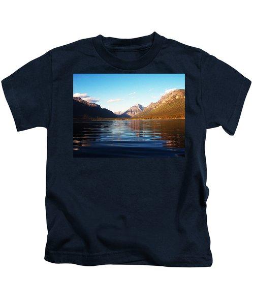 Glacier National Park 7 Kids T-Shirt
