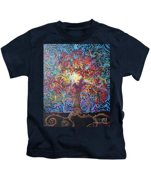 Glow Of Love Kids T-Shirt
