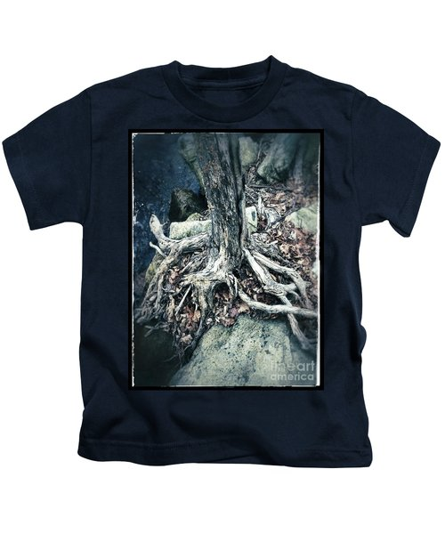 Gnarled Rooted Beauty Kids T-Shirt