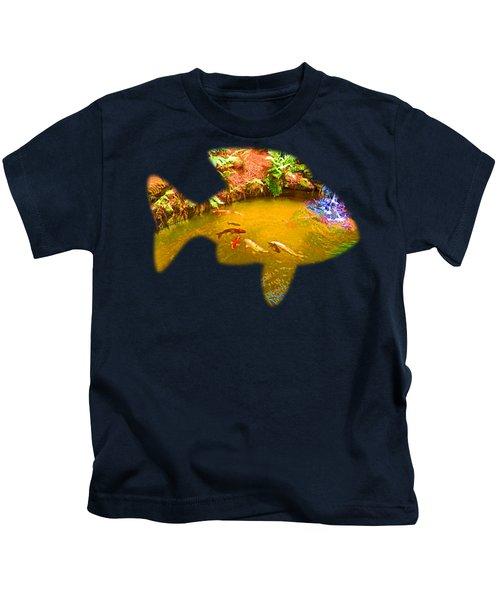 Gone Fishin' Kids T-Shirt