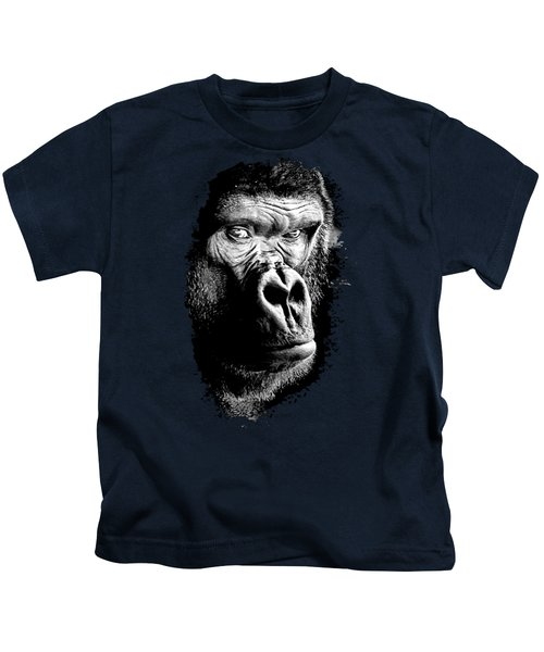Gorilla Canvas Print, Photographic Print, Art Print, Framed Print, Greeting Card, Iphone Case, Kids T-Shirt