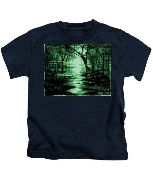 Green Mist Kids T-Shirt