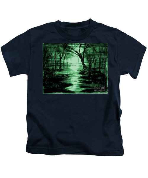 Green Mist Kids T-Shirt