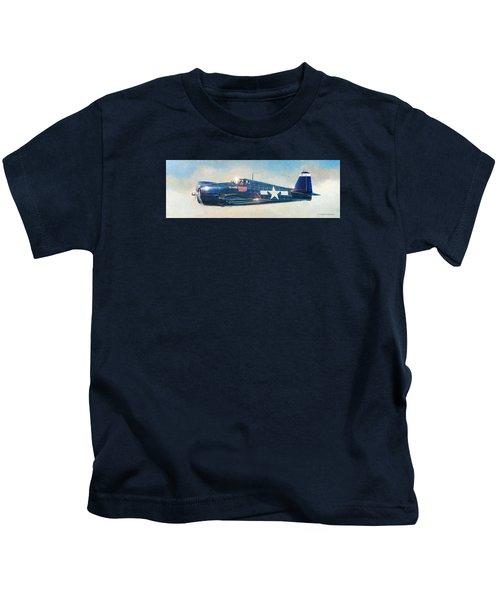 Grumman F6f-5 Hellcat Kids T-Shirt
