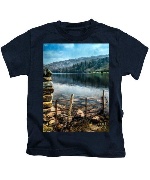 Gwynant Lake Kids T-Shirt