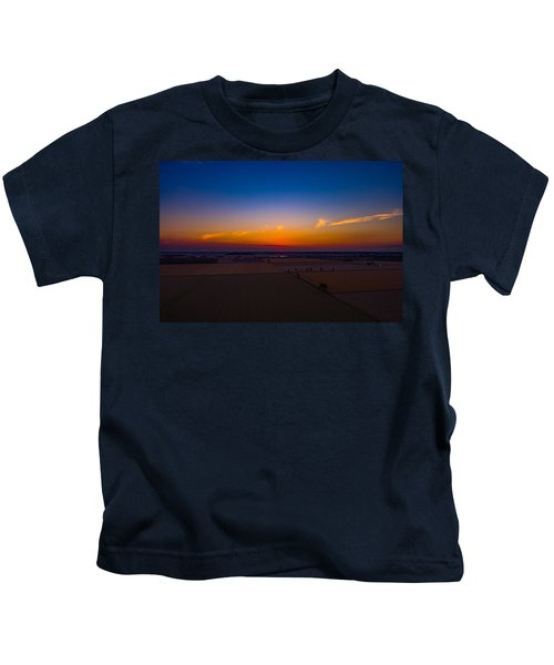 Harvest Sunrise Kids T-Shirt