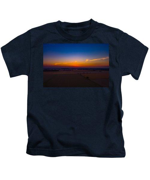 Harvest Sunrise Kids T-Shirt
