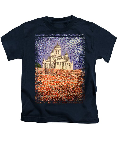 Helsinki Cathedral Kids T-Shirt