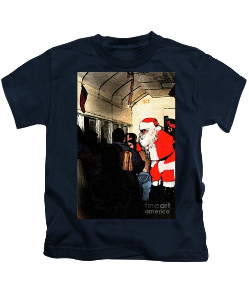 Here Come Santa Kids T-Shirt