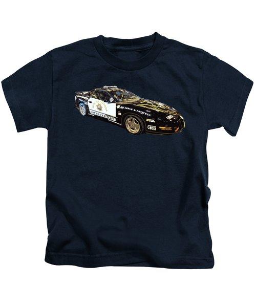 Highway Interceptor Art Kids T-Shirt
