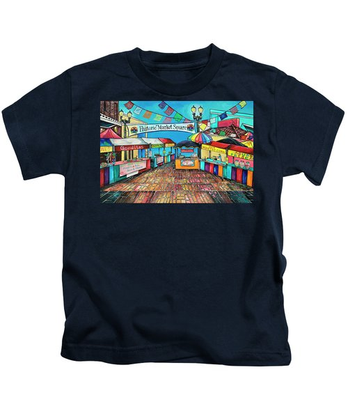 Historic Market Square Kids T-Shirt