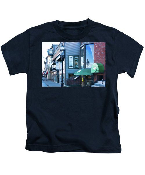 Historic Newport Buildings Kids T-Shirt