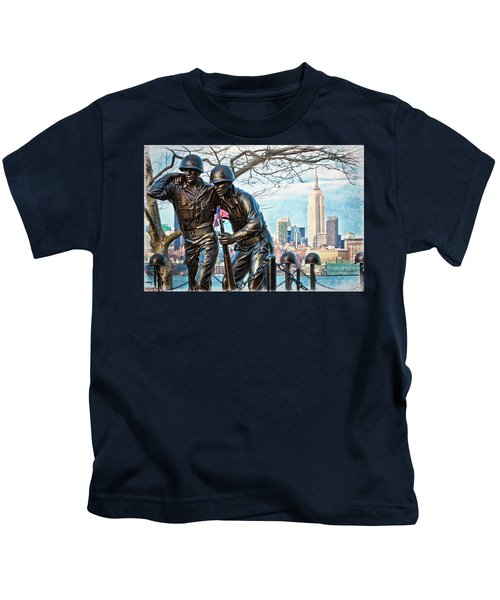 Hoboken War Memorial Kids T-Shirt
