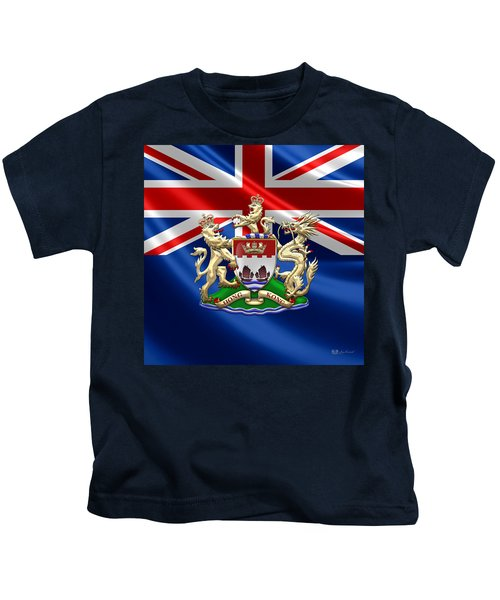 Hong Kong - 1959-1997 Coat Of Arms  Kids T-Shirt