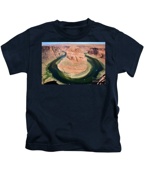 Horseshoe Bend Colorado River Kids T-Shirt