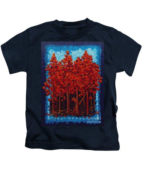 Hot Reds Kids T-Shirt