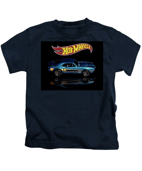 Hot Wheels '67 Pontiac Firebird 400-1 Kids T-Shirt