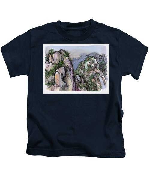 Huangshan, China Kids T-Shirt