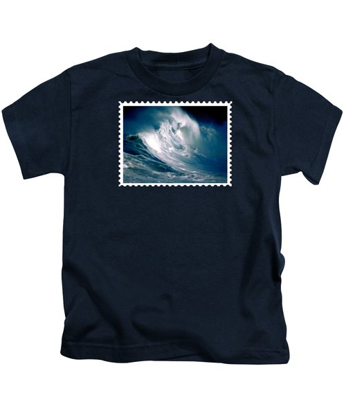 Huge Rogue Ocean Wave Kids T-Shirt