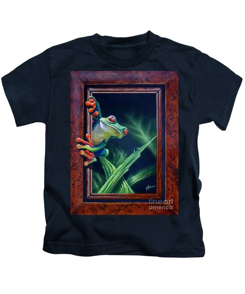 'i Was Framed' Kids T-Shirt
