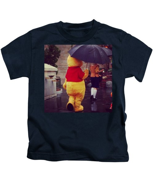 Blustery Day Kids T-Shirt