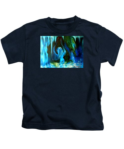 Dance Of The Winged Being Kids T-Shirt