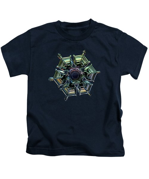 Ice Relief, Black Version Kids T-Shirt