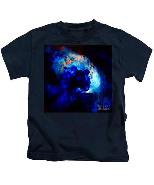 Ink Swirls 002 Kids T-Shirt