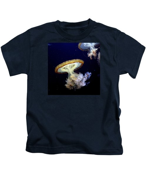 Invasion Of The Japanese Sea Nettles Kids T-Shirt