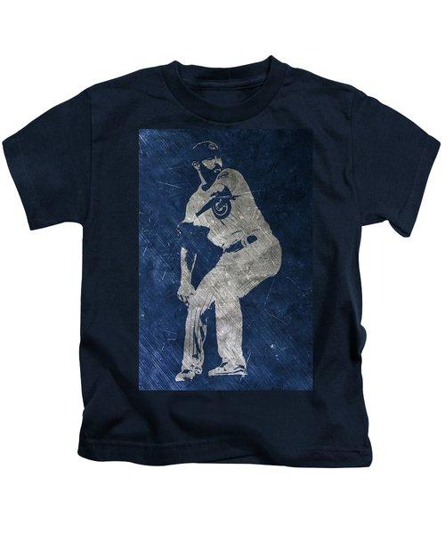 Jake Arrieta Chicago Cubs Art Kids T-Shirt