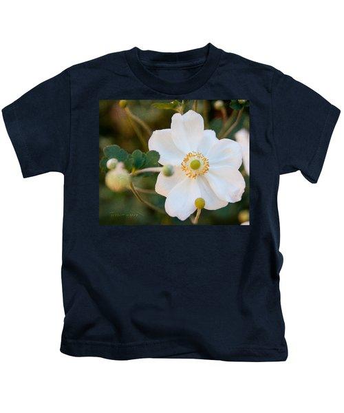 Japanese Anemone Kids T-Shirt