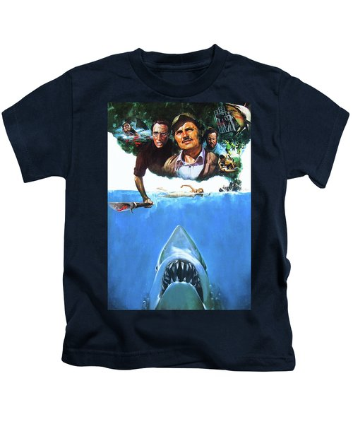 Jaws 1975  Kids T-Shirt