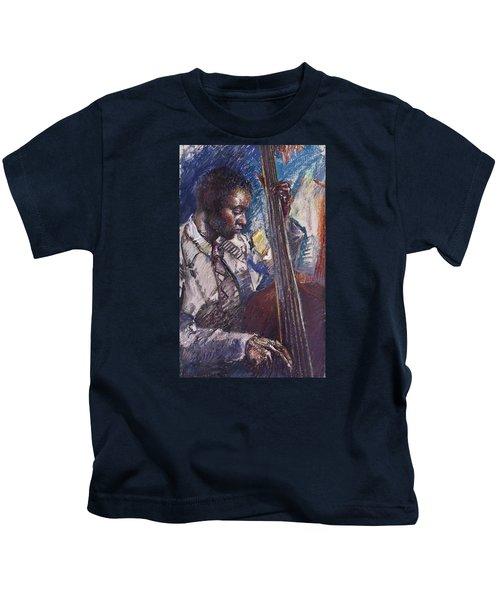 Jazz Man Kids T-Shirt