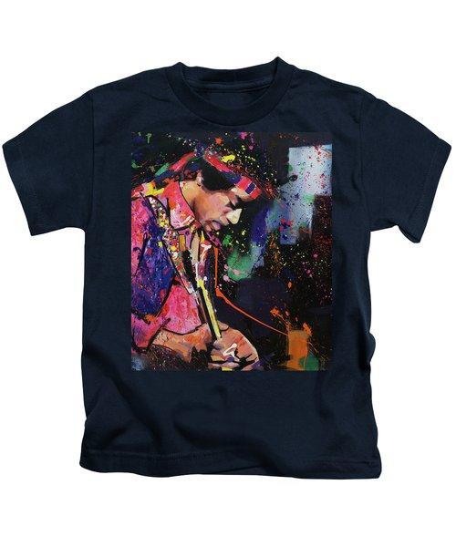 Jimi Hendrix II Kids T-Shirt