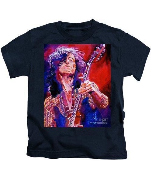 Jimmy Page Kids T-Shirt